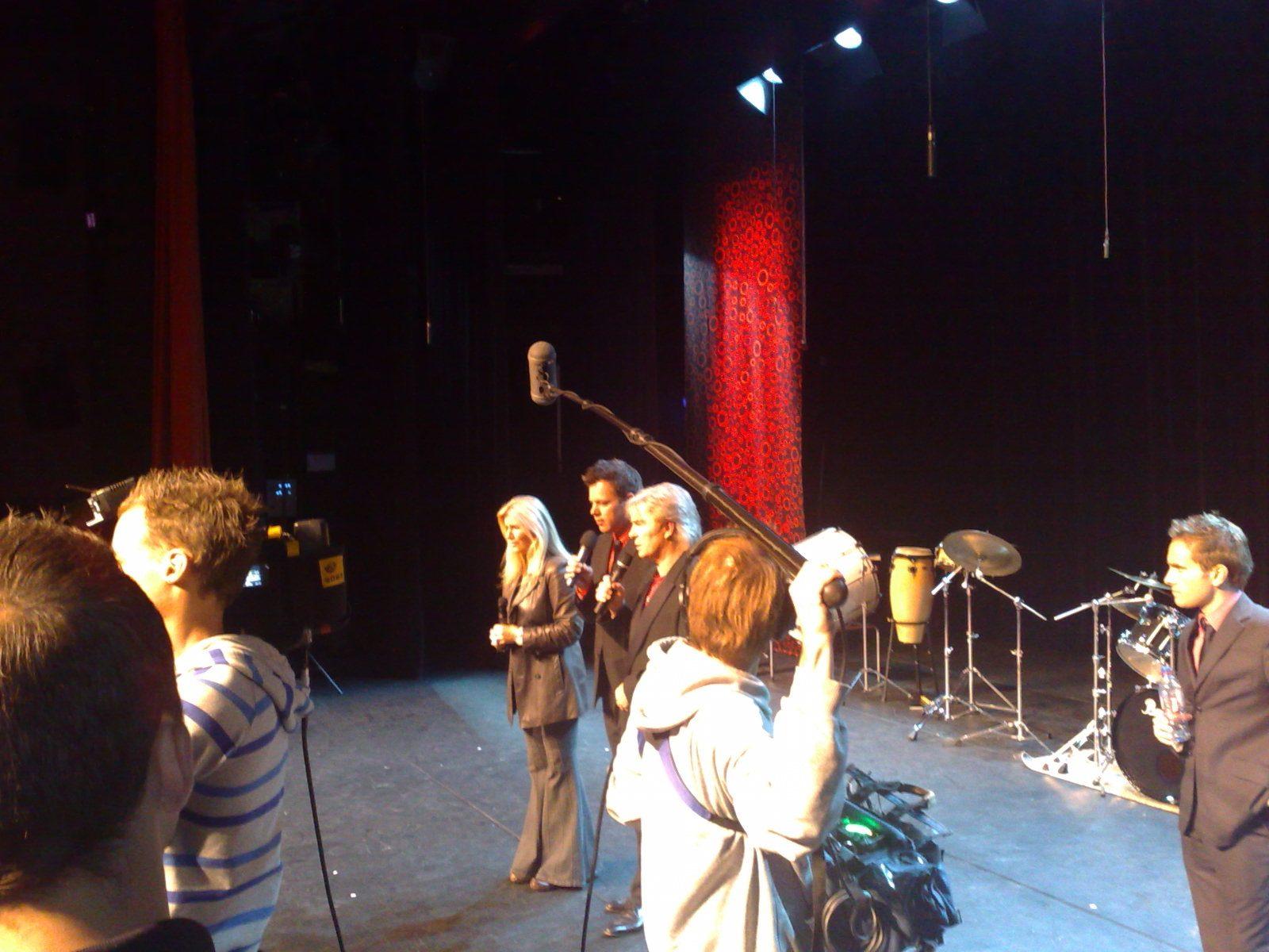 Dave On Stage Het Kruispunt Barendrecht Guys n' Dolls Dominic Grant & Julie Forsyth Dave van der Wal Grant & Forsyth