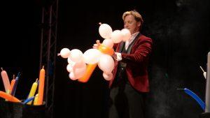 Martijn Martell bij Dave On Stage
